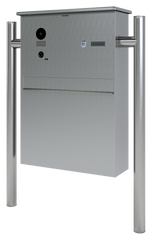 Doorbird D204 Intercom + Mailbox External Freestanding Unit