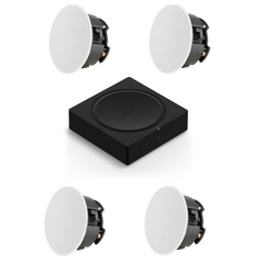 4 Speaker Kit - Sonos AMP + 4 In Ceiling Sonance Speakers