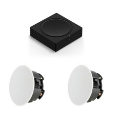 2 Speaker Kit - Sonos AMP + 2 In Ceiling Sonance Speakers