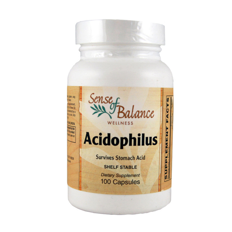 Acidophilus Capsules (1/2 billion) - Sense of Balance Wellness LLC  - 1