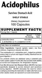 Acidophilus Capsules (1/2 billion) - Sense of Balance Wellness LLC  - 2