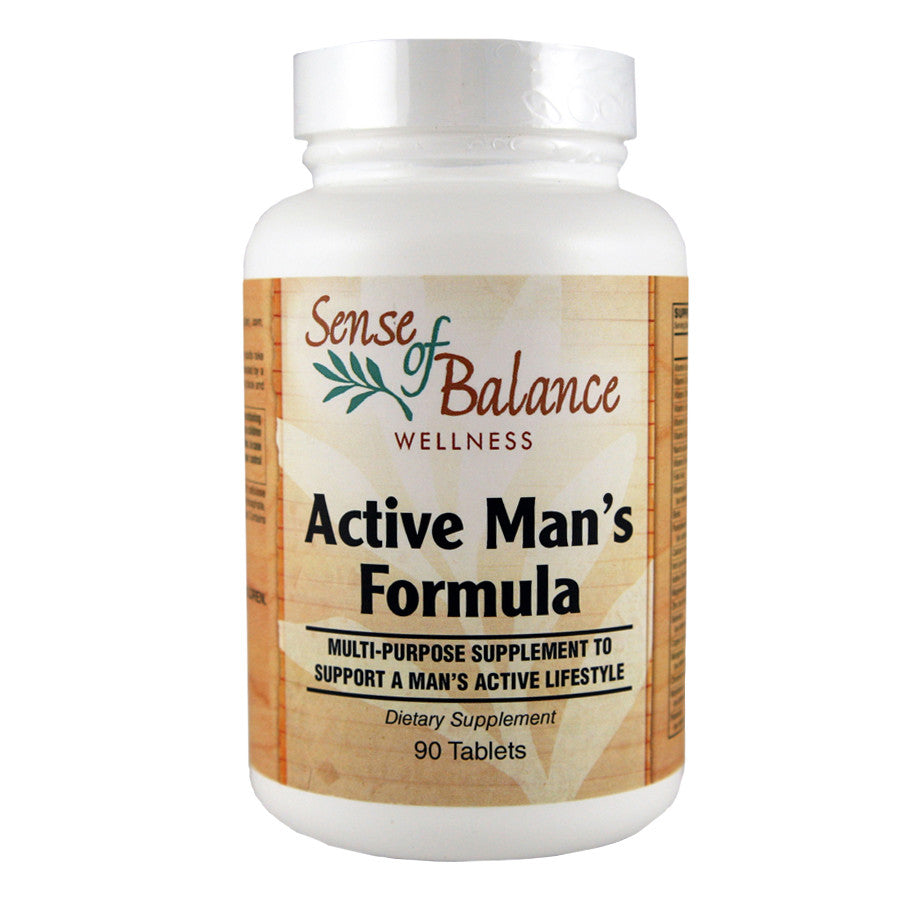 Active Man's Formula - Sense of Balance Wellness LLC  - 1