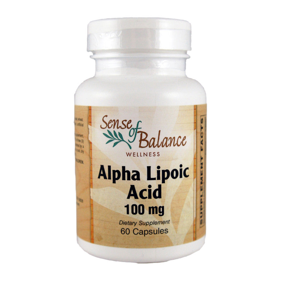 Alpha Lipoic Acid 100mg - Sense of Balance Wellness LLC  - 1