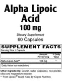 Alpha Lipoic Acid 100mg - Sense of Balance Wellness LLC  - 2