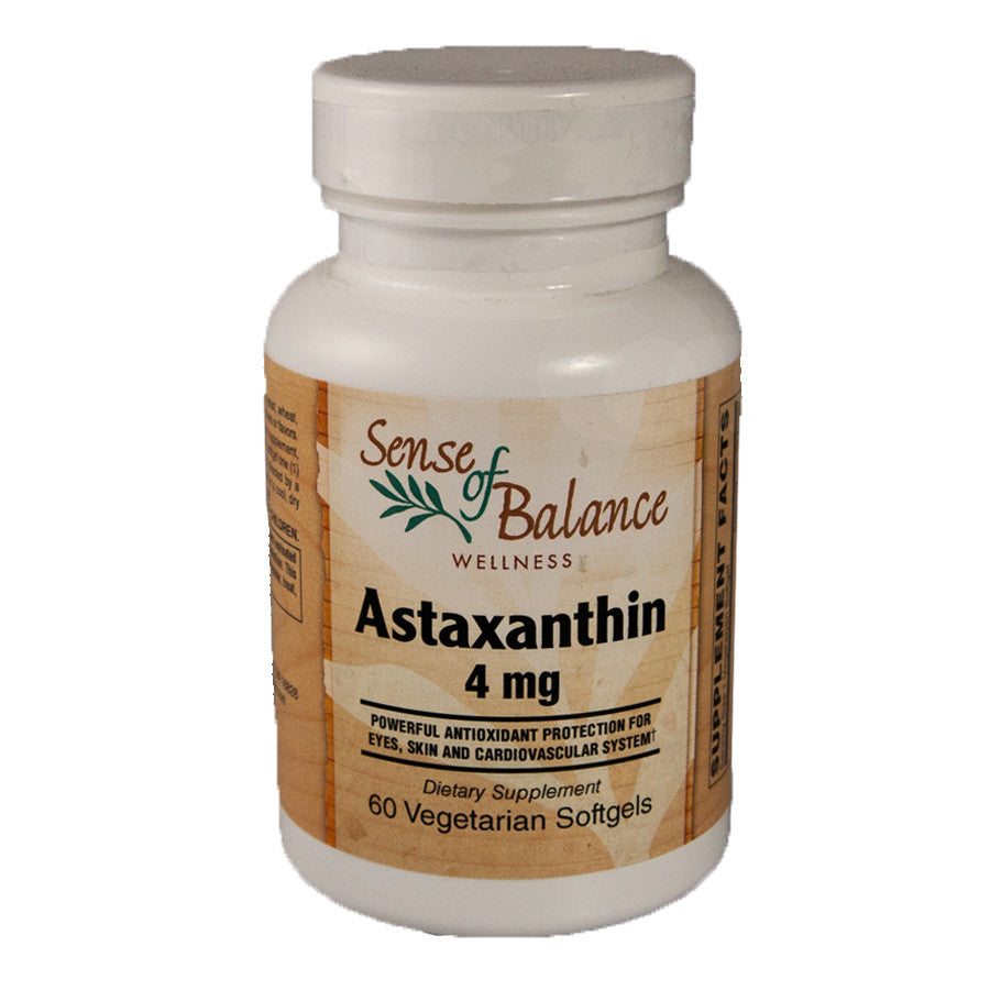 Astaxanthan 4mg Softgel - Sense of Balance Wellness LLC  - 1