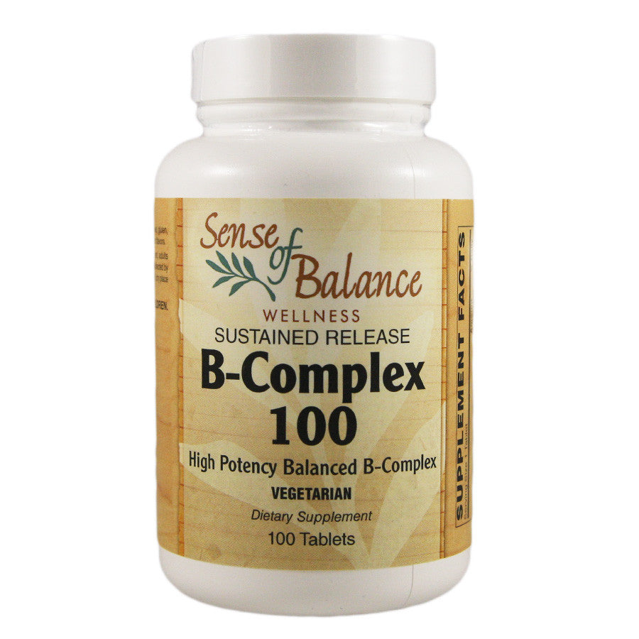 B-Complex 100 Sustained Release - Sense of Balance Wellness LLC  - 1