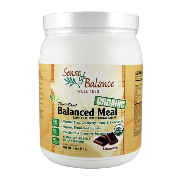 Balanced Meal Organic Plant Protein Chocolate