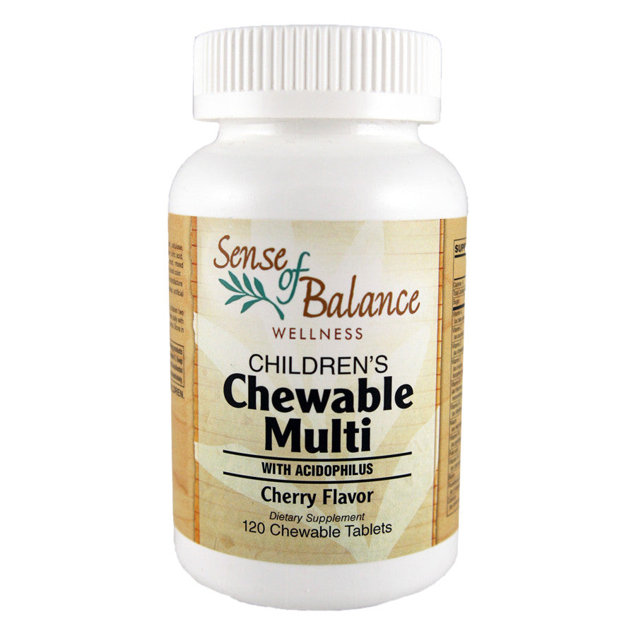 Children's Chewable Multi - Sense of Balance Wellness LLC  - 1