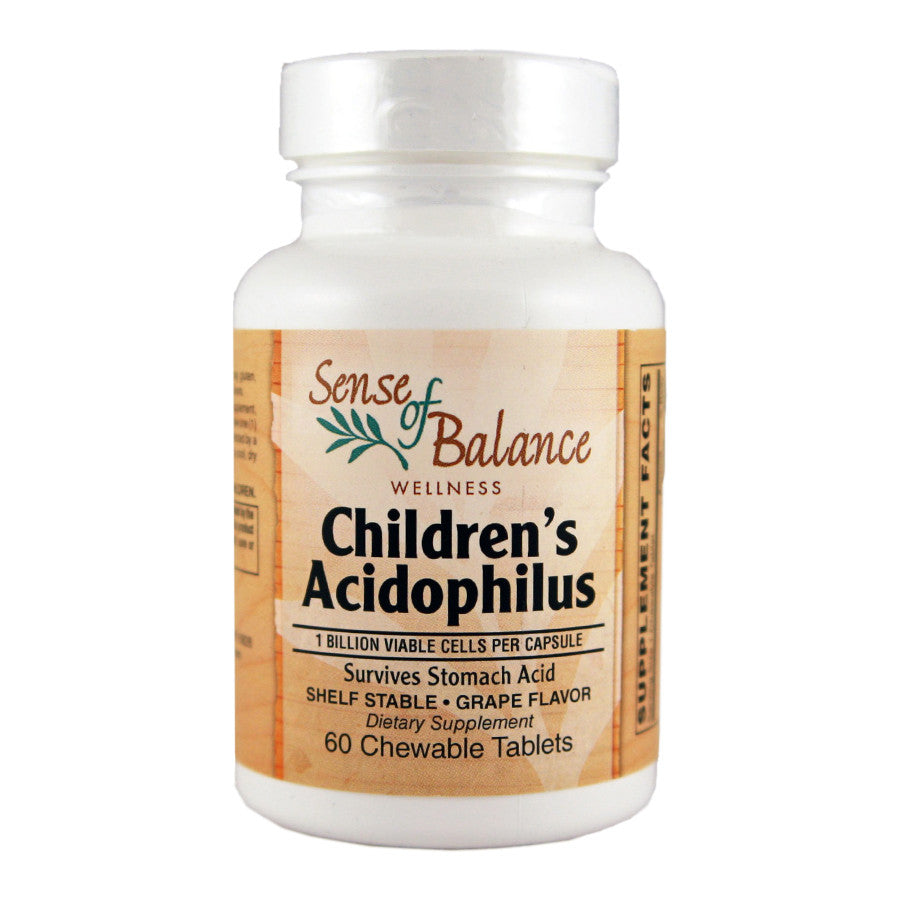 Children's Acidophilus - Sense of Balance Wellness LLC  - 1