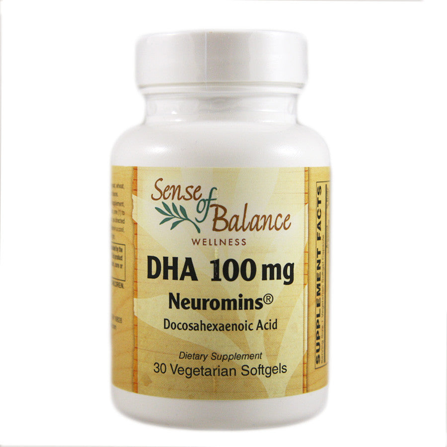 DHA 100mg - Sense of Balance Wellness LLC  - 1