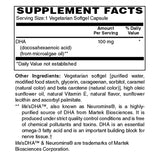 DHA 100mg - Sense of Balance Wellness LLC  - 2