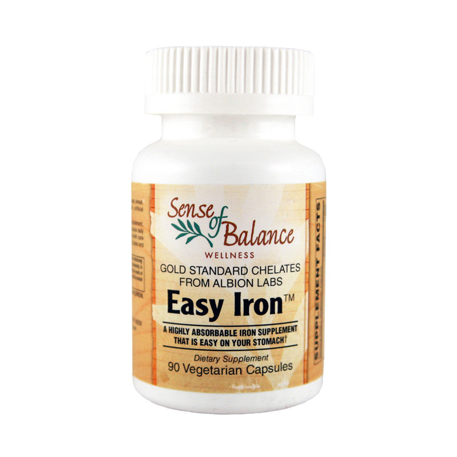 Easy Iron 25mg - Sense of Balance Wellness LLC  - 1