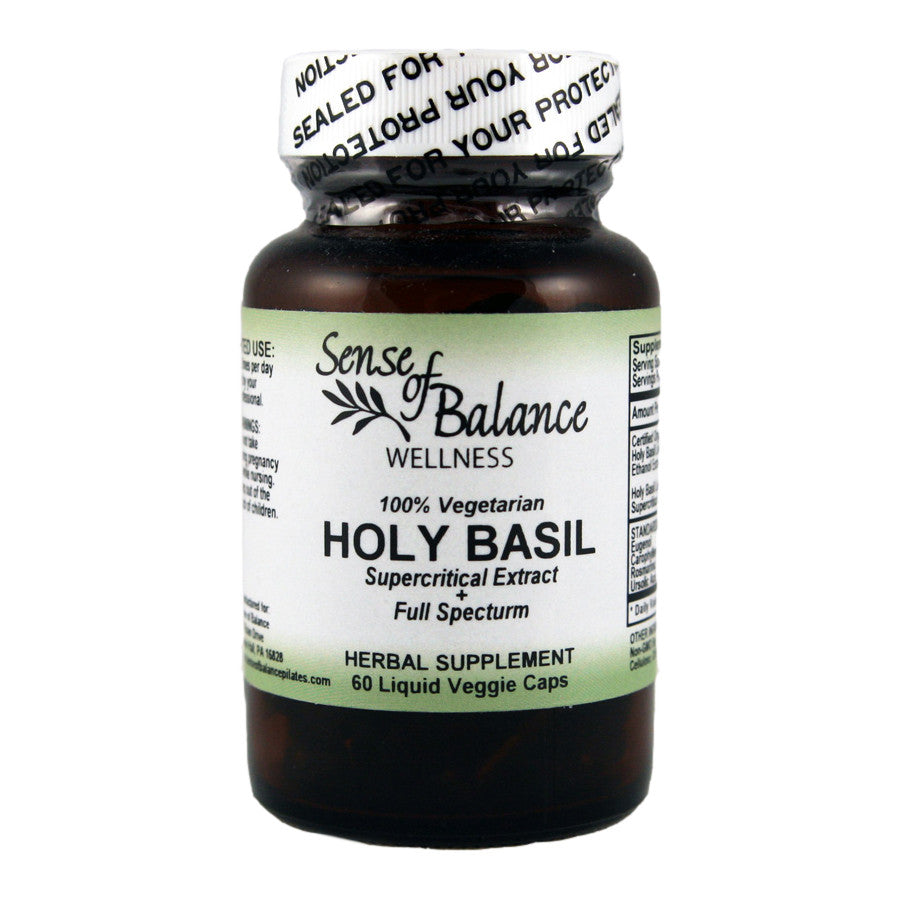 Holy Basil Liquid Capsules - Sense of Balance Wellness LLC  - 1
