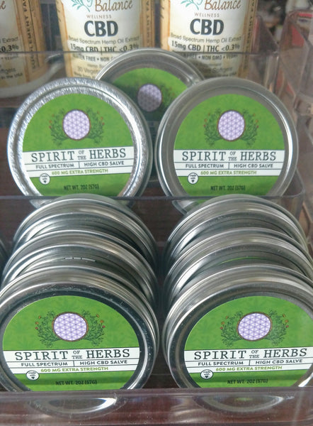 CBD Salve 2 oz.