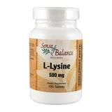 L-Lysine 500mg - Sense of Balance Wellness LLC  - 1