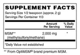 MSM Powder 2000mg - Sense of Balance Wellness LLC  - 2