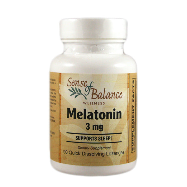Melatonin 3 mg Lozenges