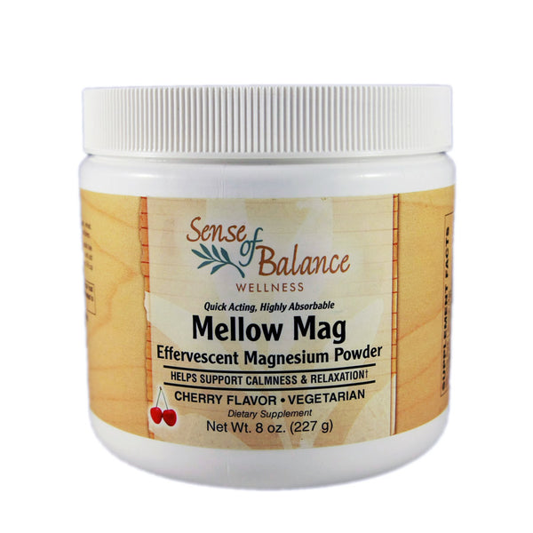 Mellow Mag Cherry Magnesium Powder