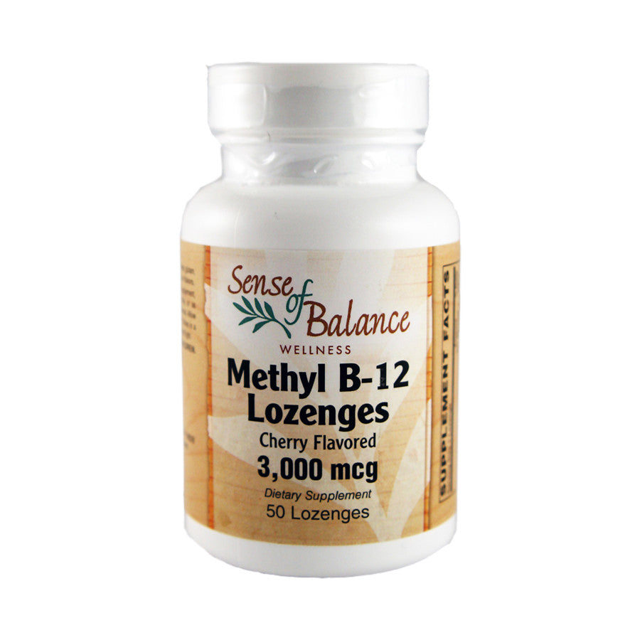 Methyl B-12 Lozenges - Sense of Balance Wellness LLC  - 1