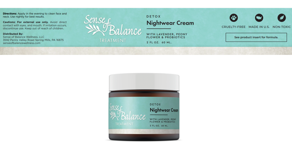 Detox Nightwear Cream