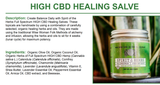 Spirit of the Herbs - High CBD Salve