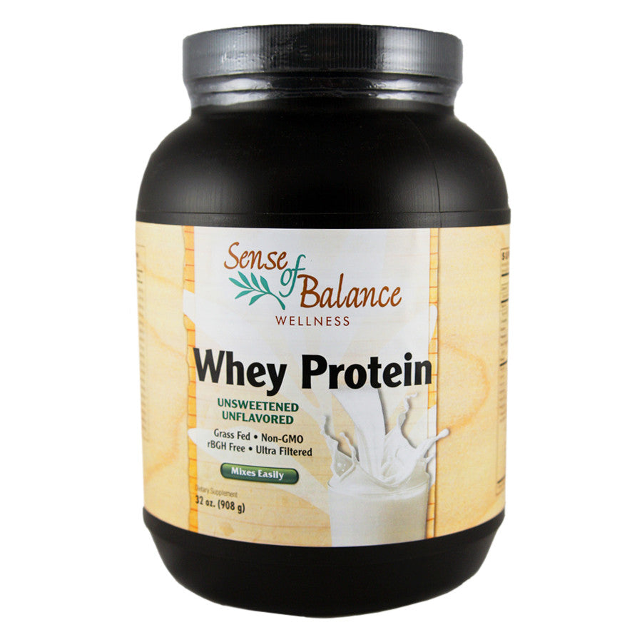 Whey Protein Unflavored - Sense of Balance Wellness LLC  - 1