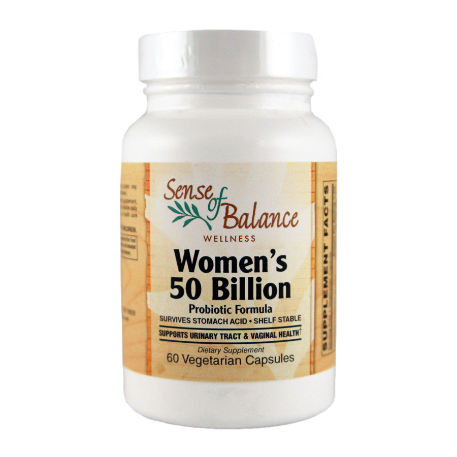 Women's 50 Billion Probiotic - Sense of Balance Wellness LLC  - 1