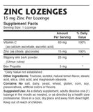 Zinc Lozenges - Sense of Balance Wellness LLC  - 2