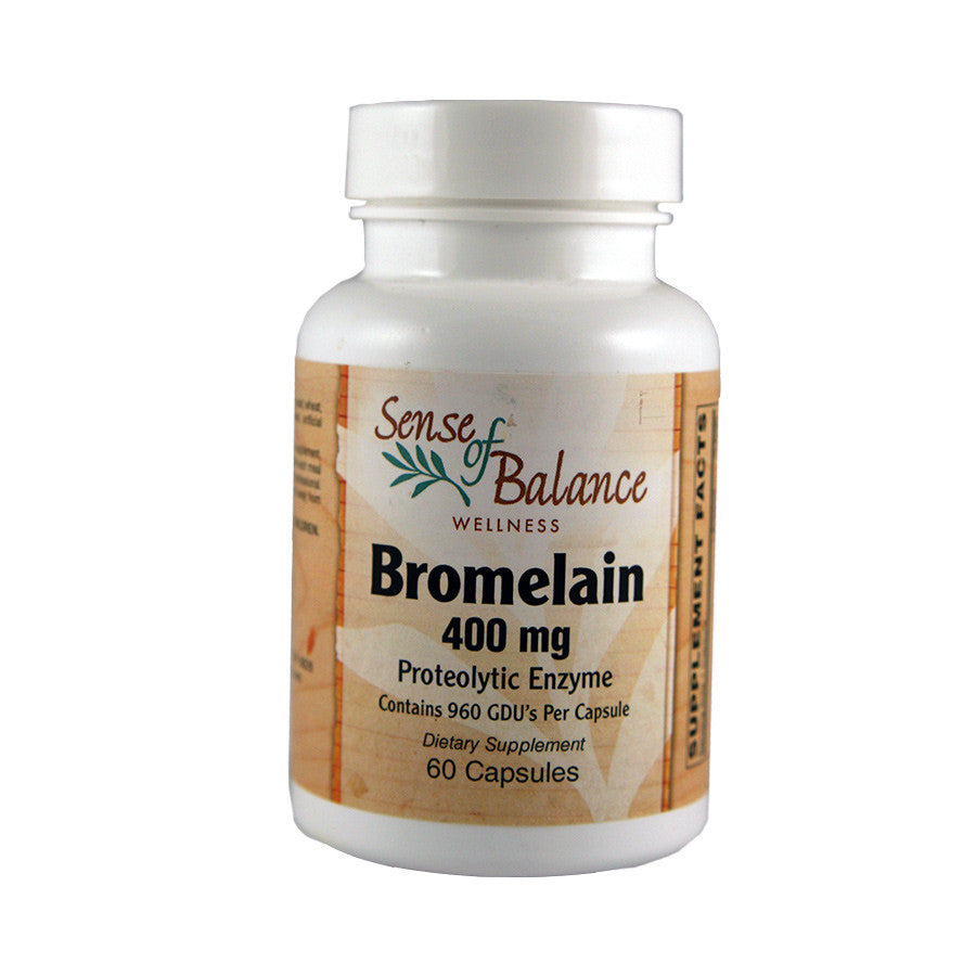 Bromelain Proteolytic Enzyme - Sense of Balance Wellness LLC  - 1