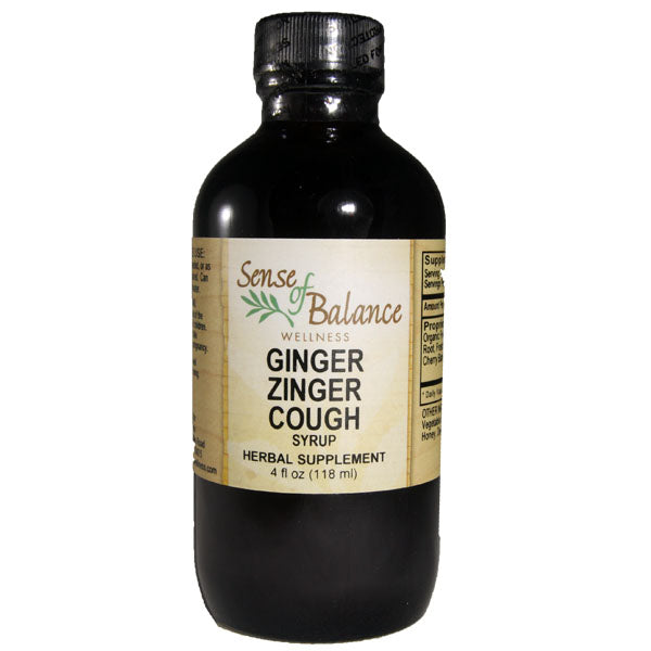 Ginger Zinger Cough Syrup