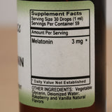 Melatonin Liquid 3mg - Sense of Balance Wellness LLC  - 2