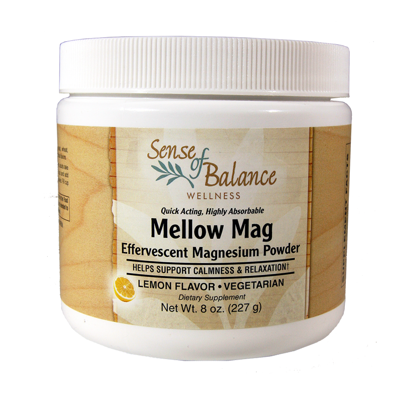 Mellow Mag Lemon Magnesium Powder