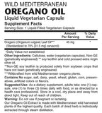 Oregano Oil - Sense of Balance Wellness LLC  - 2