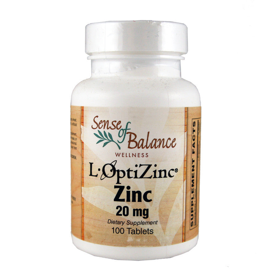Zinc 20mg - Sense of Balance Wellness LLC  - 1