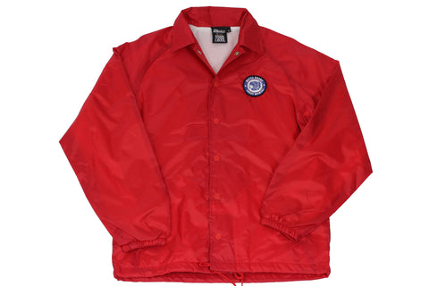 "Red ""Premium Quality"" Coaches Jacket"