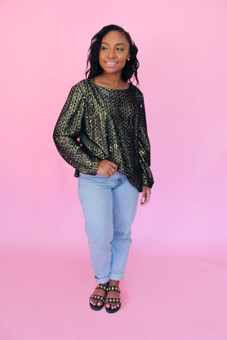 Gold Rush Blouse