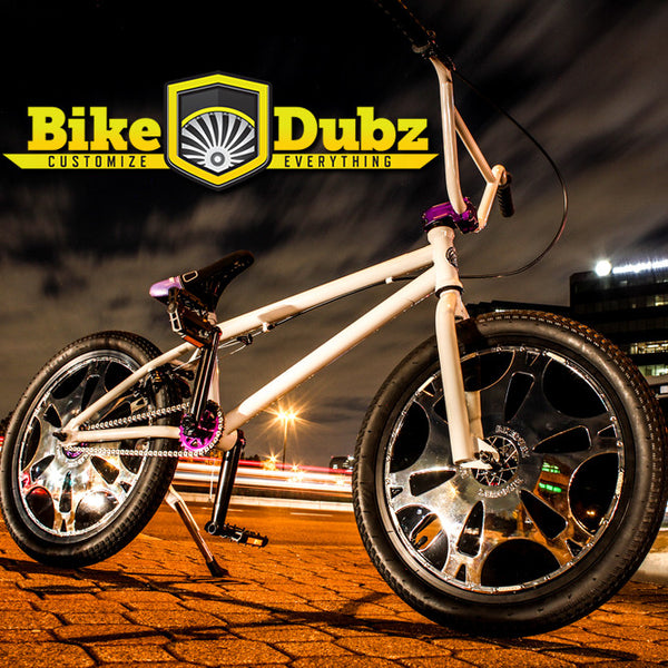 "BikeDubz Mayhem 20"" BMX Freestyle Bicycle Wheel Spoke Covers for 20"" Inch Bikes: Now on Amazon/Walmart/eBay"