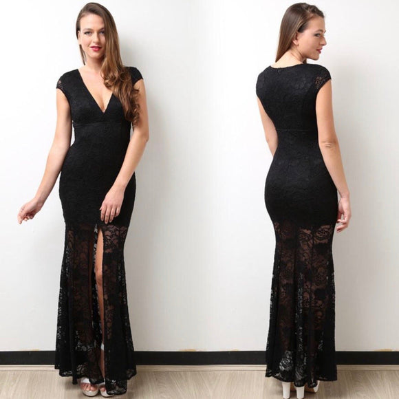 Lace Formal Dress