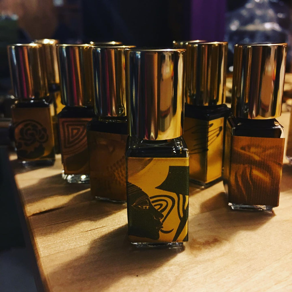 Baltic Amber and Iris Temple Perfume