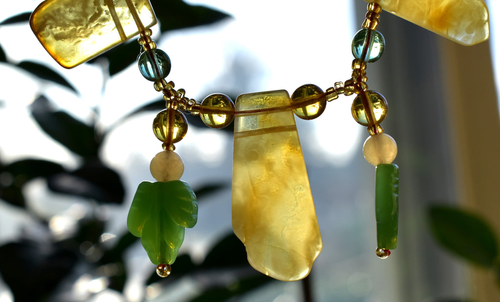 Baltic Amber Celebration Necklace