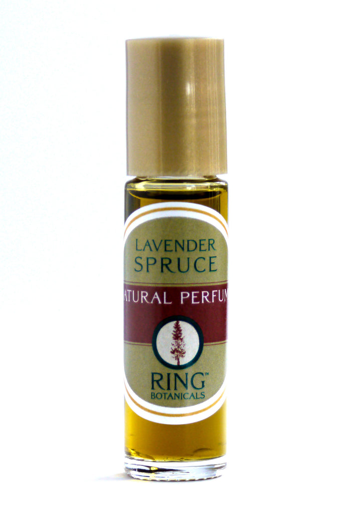 Lavender Spruce Natural Perfume
