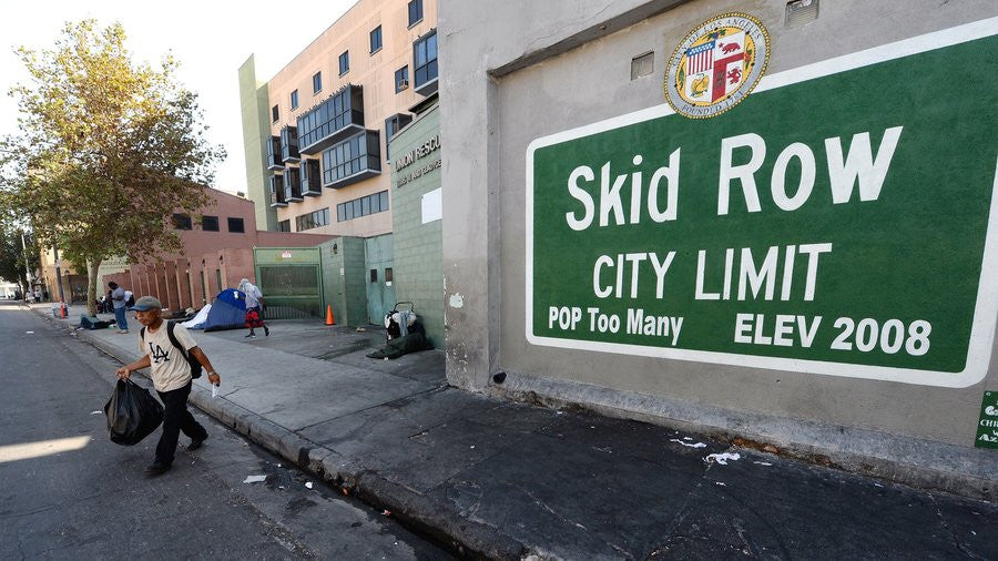 DIFF Eyewear Donates 3,500 Pairs Of Sunglasses At Skid Row's Carnival of Love