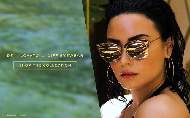 DIFF Eyewear - Demi Lovato Collection