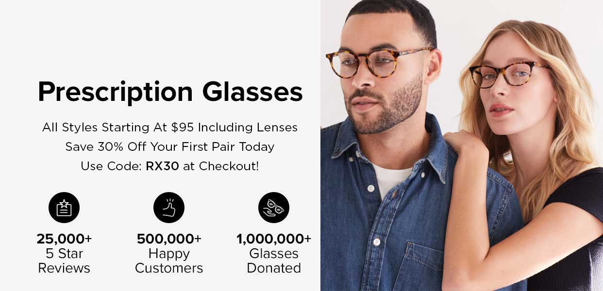 prescription eyeglasses discount 30 percent off