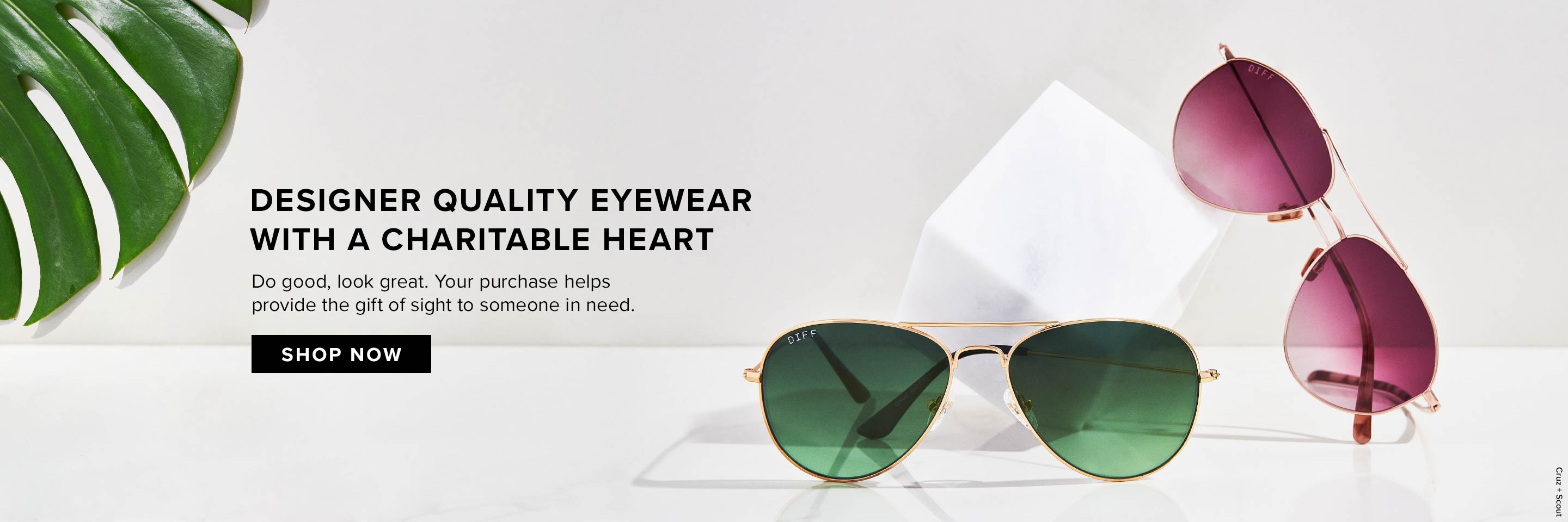 DIFF Eyewear | Charitable Designer Sunglasses That Give Back