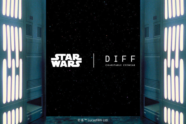 View of Outerspace inside a Star Wars space ship messaging Star Wars x DIFF