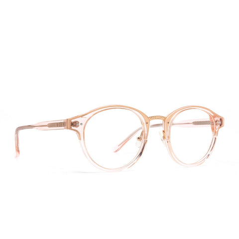 Banks eyeglasses with rose crystal frames and blue light technology product image