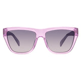 Harper Amethyst Frame Sunglasses with Polarized Lenses