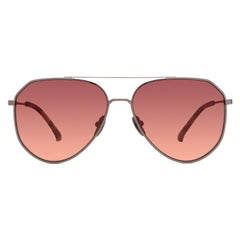 DASH - BRUSHED GUNMETAL + BROWN GRADIENT + POLARIZED