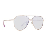 JESSIE JAMES DECKER - DASH + BRUSHED SILVER + PURPLE FLASH POLARIZED